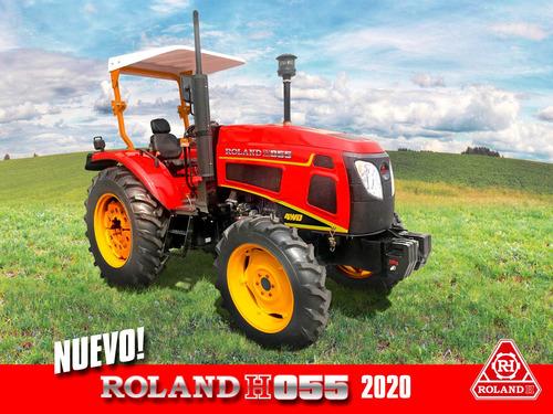 Nuevo Tractor Roland H055 4x4 Diesel, 55hp