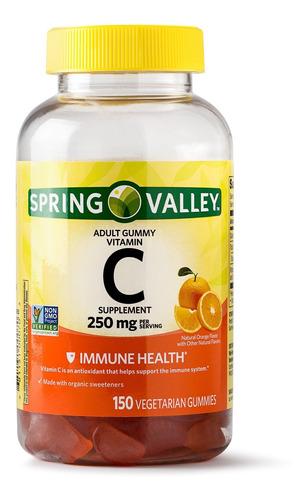 Vitamina C 250 Mg Sist Inmune Inmunologico Americano 150 Und