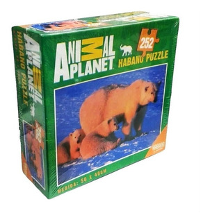 Puzzle Animal Planet Osos Polares 252 Piezas Habano 8008
