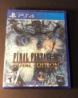 Final Fantasy Xv Royal Edition Playstation 4 Fisico