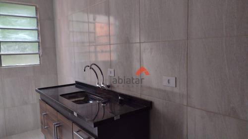 Casa Com 1 Dormitório Para Alugar, 47 M² Por R$ 800,00/mês - Jardim Celeste - São Paulo/sp - Ca0178