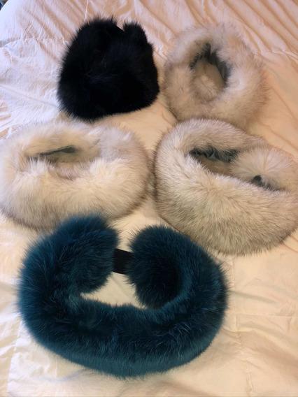Diadema Piel Zorro Fur Headbands