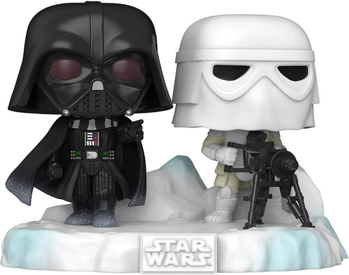 Funko Pop Star Wars Darth Vader & Snowtrooper Battle #377