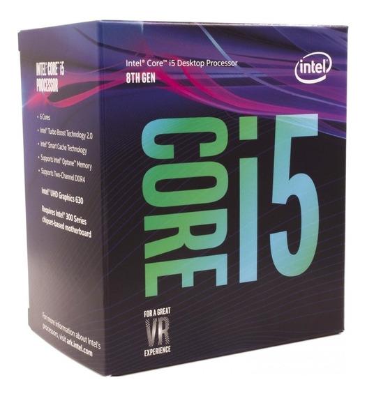 Processador Intel Core I5-8400 9mb 2.8ghz Lga 1151 Bx80684i5