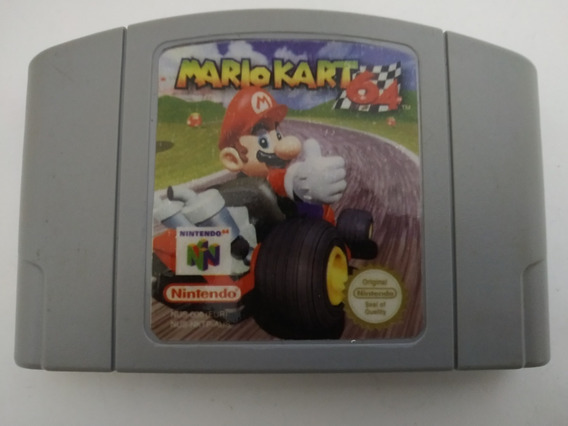 Mario Kart 64 Original Americano Salvando Nintendo 64 N64