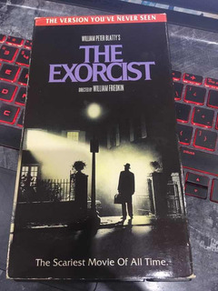 Vhs Movie The Exorcist Importado William Friedkin Exorcista