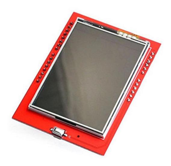 Pantalla Display Tactil Arduino 2.4p Tf Microsd P Uno R3