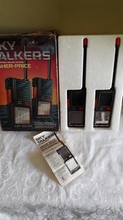 Vintage Sky Talkers Walkie-talkies Fisher Price 1983