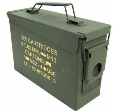 Caixa De Munições 762 Original (vazia)