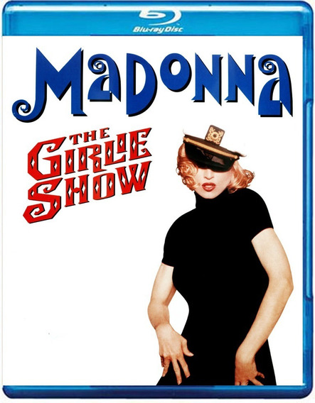 Bluray Madonna - The Girlie Show Austrália (madame X)