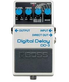 Pedal Boss Dd3 Guitarra Digital Delay - Loja