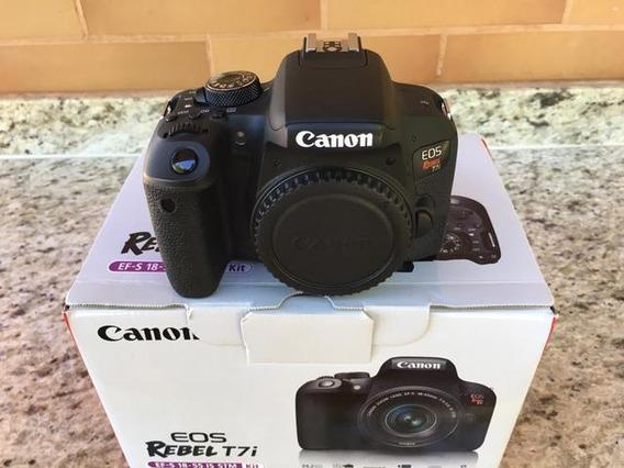 Canon T7i (800d) Corpo + Sd 32gb