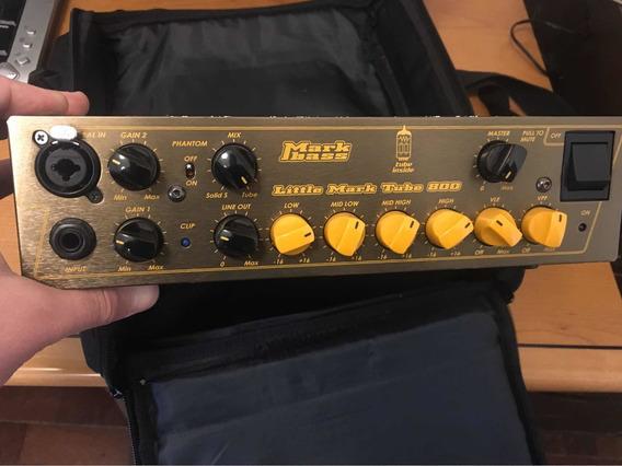 Cabezal Mark Bass Little Mark Tube 800 Funda (precio En U$s)