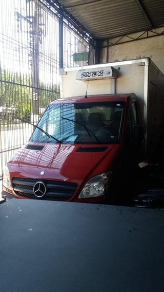Mercedes Sprinter 2012 Com Bau Frigorifico Único Dono