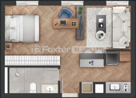 Apartamento, 1 Dormitórios, 43 M², Auxiliadora - 159688