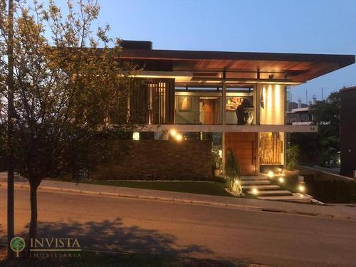 Casa Com 5 Dormitórios À Venda, 515 M² Por R$ 5.600.000,00 - João Paulo - Florianópolis/sc - Ca1610