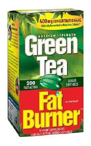 Té Verde Quemagrasa - 200 Cáp. Bl - Unidad a $575