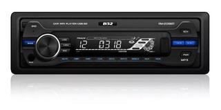 Autoestereo B52 Rm-2018 Usb Mp3 P/auto Bluetooth 208w