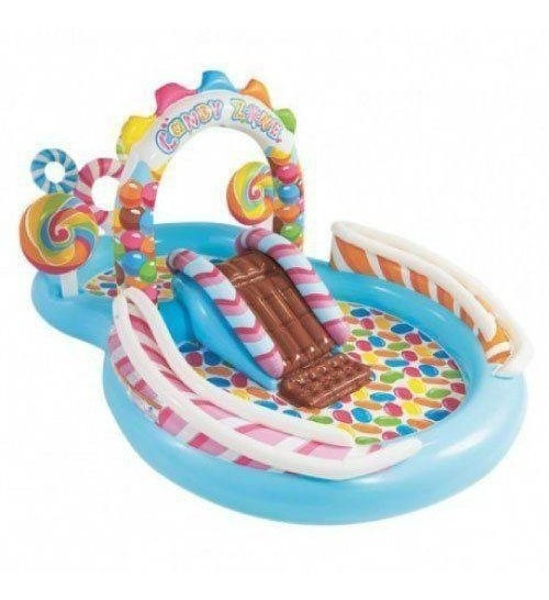 Piscina Inflável Infantil Playground Candy Zone 206l Intex