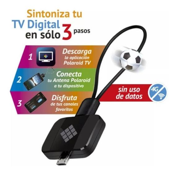Sintonizador Tv Polaroid Para Smartphone O Tablet, Nuevo