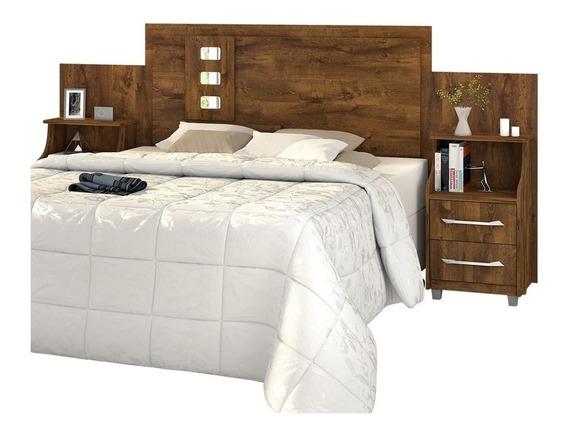 Cabeceira de cama Loja DoceLar Florida Casal/Queen/King 296cm x 125cm malbec