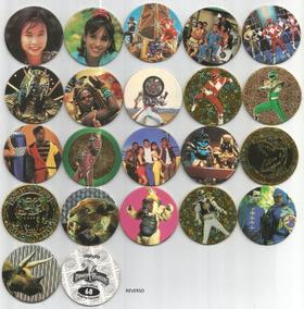 Lote Com 10 Tazos Da Coleção Avimage Power Rangers