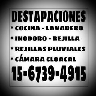 Destapaciones En Villa Urquiza, Saavedra, Villa Pueyrredon.