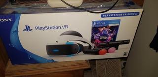 Playstation 4 Vr Bundle Completo Casco Realidad Virtual Ps4
