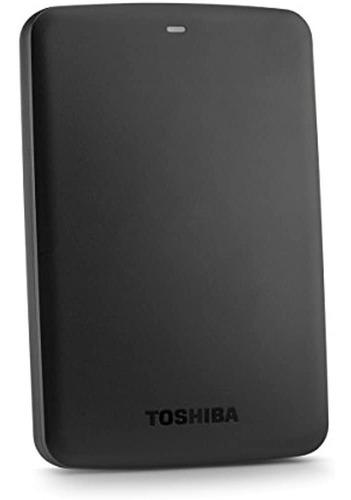 Toshiba Canvio Fundamentos Disco Duro Portatil Negro
