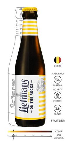 Liefmans Yell'oh Cerveza Belga Frutal - mL a $40