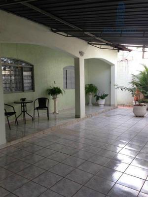 Casa Com 2 Dormitórios À Venda, 239 M² Por R$ 550.000 - Jardim Planalto - Paulínia/sp - Ca0809
