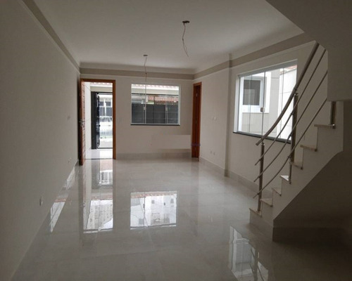 Sobrado A Venda Com 3 Dormitórios Sendo 01 Suite , 02 Vagas, 89 M² Por R$ 680.000,00 - Vila Nivi - V2751 - 69442528