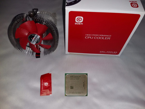 Processador Sempron 64 3000+ 754 Pinos +cooler+pasta Termica