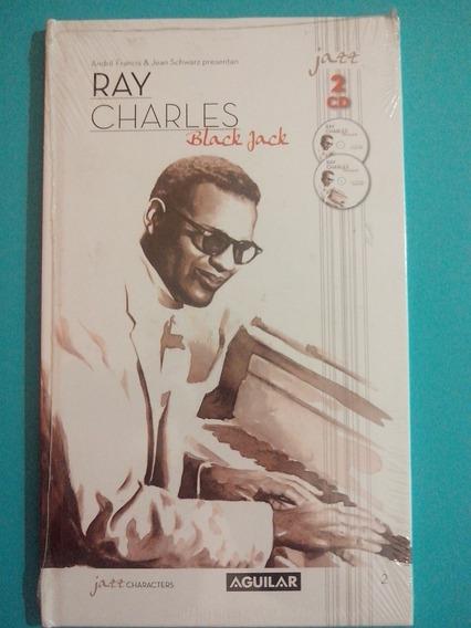 Ray Charles 2 Cds + Libro Jazz Characters Aguilar