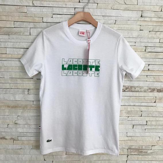 Camiseta Lacoste Promoção Envio Imediato Frete Grátis