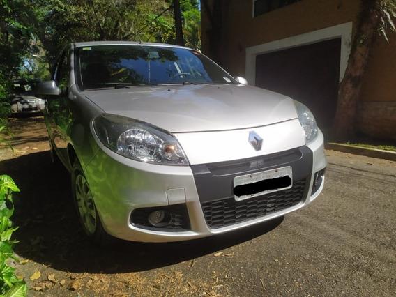 Renault Sandero Exp 1.0 16v 2013 - Prata