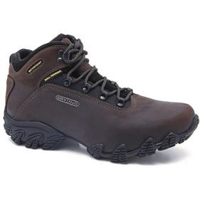 Bota Bull Terrier Alpina Dry Water Proff - Marrom Burnet