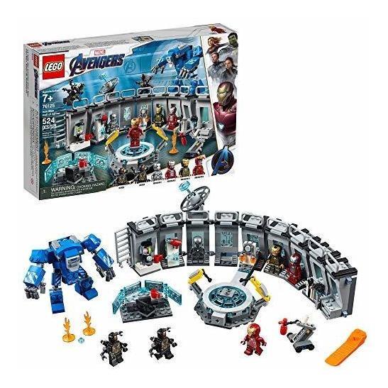 Lego Marvel Avengers Endgame, Salón De Armaduras De Iron Ma