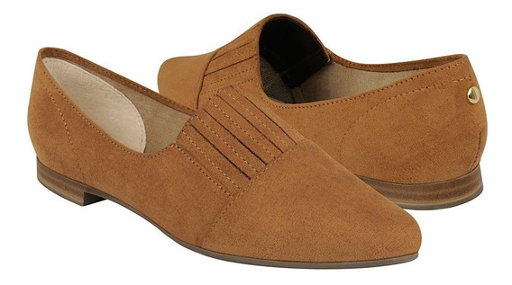 Flats Casuales Stylo Para Mujer Suede Melle 2035