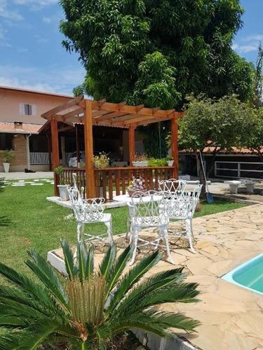 Chácara Com 8 Dormitórios À Venda, 1000 M² Por R$ 900.000,00 - Parque Da Represa - Paulínia/sp - Ch0469
