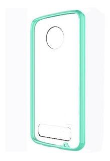 Funda Case Para Moto Z2 Play Acrilico Transparente