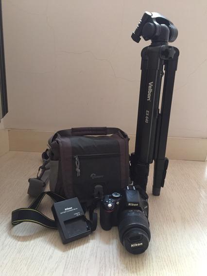 Cámara Nikon D5100 + Accesorios