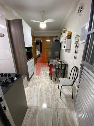 Kitnet Com 1 Dormitório À Venda, 38 M² Por R$ 145.000,00 - Vila Guilhermina - Praia Grande/sp - Kn0027