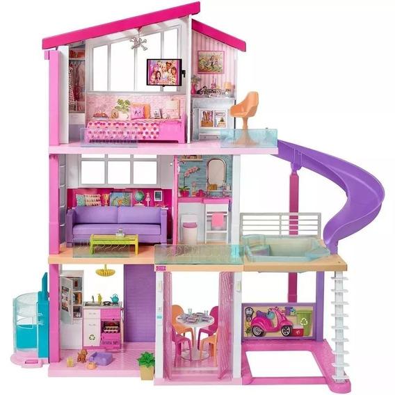 Nova Casa Dos Sonhos Boneca Barbie Mattel Dream House Fhy73