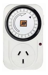 Timer Mecanico Analogico Programable Reloj Enchufable 10amp