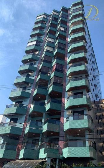Apartamento De 02 Quartos À Venda Na Vila Guilhermina - Praia Grande!!! - Ap3394