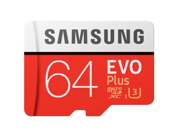 Cartão De Memória Micro Sdxc 64gb Samsung U3 Uhs - I