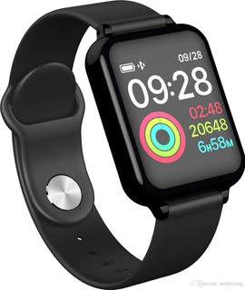 Smartwatch B57 Relógio Inteligente Hero Band 3 Fitness Preto