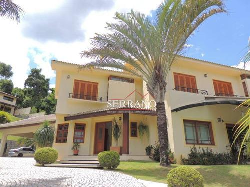 Imagem 1 de 30 de Casa Com 5 Dormitórios À Venda, 819 M² Por R$ 4.200.000,00 - Condomínio Fazenda São Joaquim - Vinhedo/sp - Ca0681