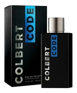 Perfume Colbert Code 100ml Edt 100 Ml Con Vaporizador Hombre